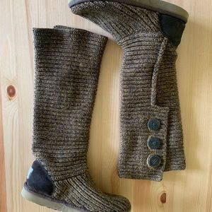 UGG Australia Knitted Boots Women's size 7